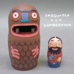 Sasquatch and Lumberjack