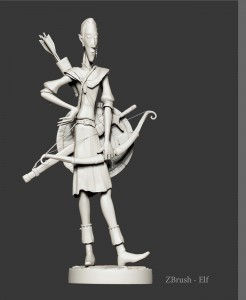ELF presentation model unpainted
