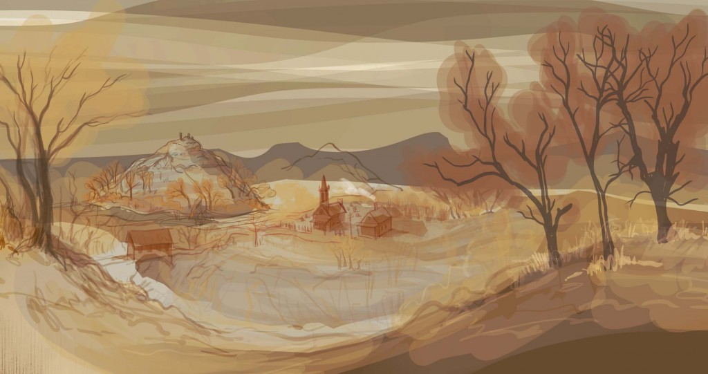 very sketchy this week, plans for the next landscape